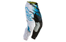 Fly Racing Kinetic Mesh Pantalon homme bleu/blanc